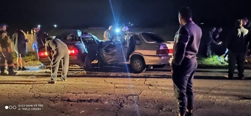 Двое взрослых погибли, пострадал ребенок: подробности ДТП в Сакском районе