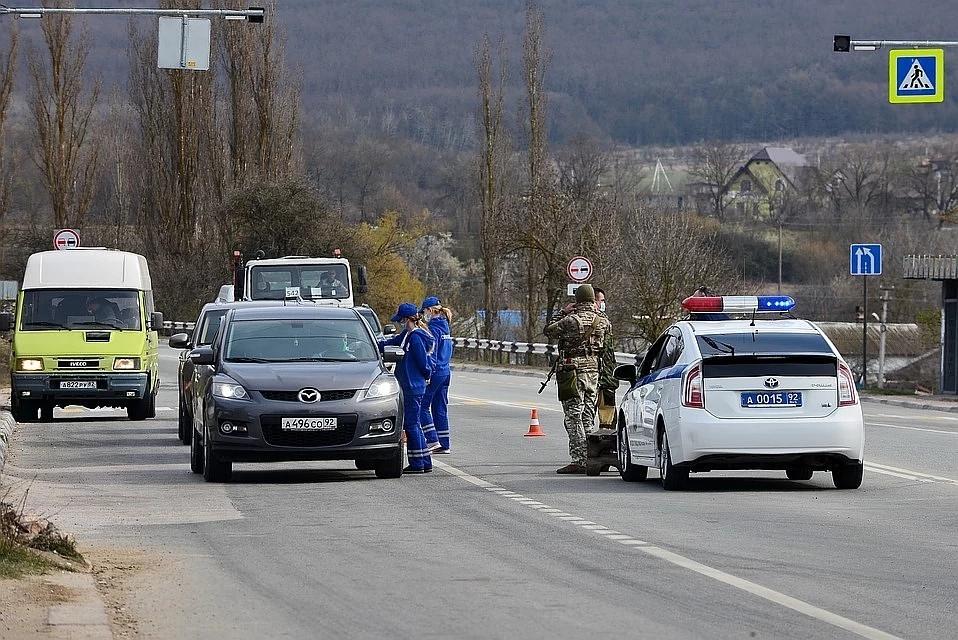 При въезде в Севастополь начинают делать обязательные тесты на COVID