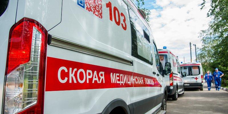 В Крыму ночью перевернулась машина скорой помощи