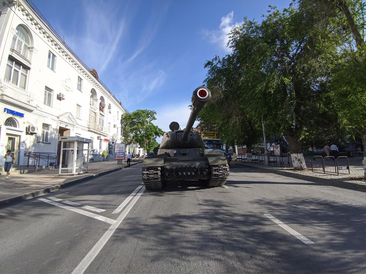 В Севастополе состоялась первая репетиция Парада Победы
