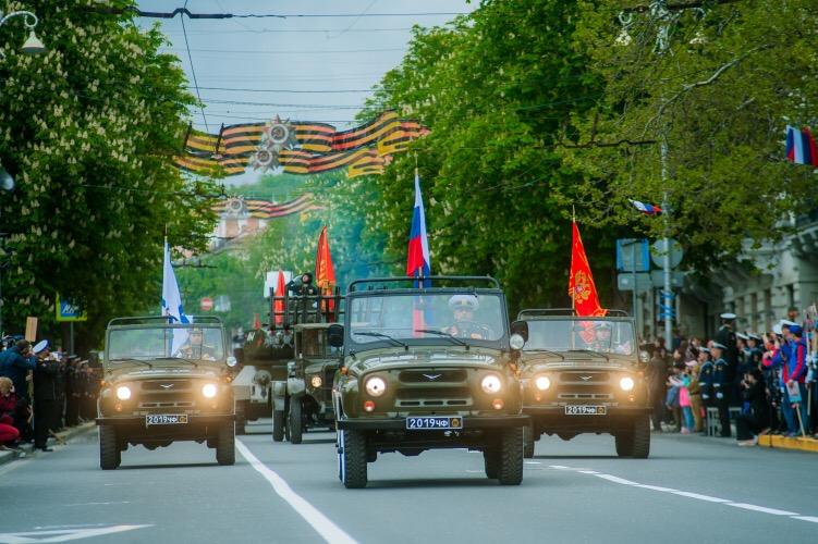 Временное ограничение движения транспорта в Севастополе