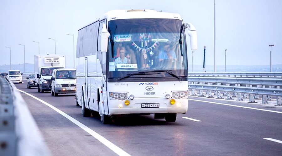 Возобновляются перевозки пассажиров с Кубани в Крым по «единому» билету