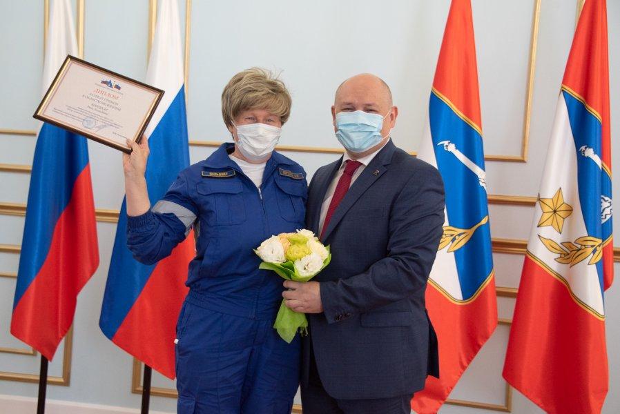 Более 70 медиков Севастополя получили государственные награды