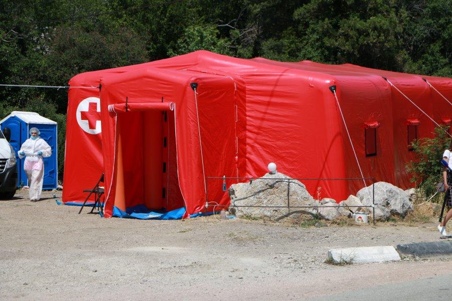 На блокпостах в Севастополе установили новые медицинские модули