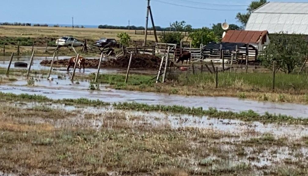 Автобусы для эвакуации людей: север и центр Крыма затопило дождями