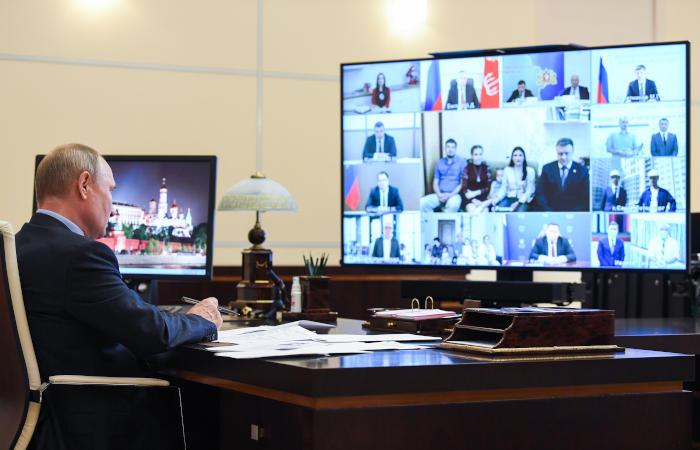 Путин готовит обращение к россиянам по поправкам в Конституцию