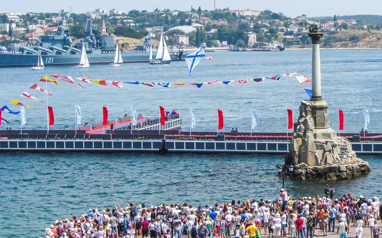 В Севастополе три дня будут перекрывать рейд через бухту