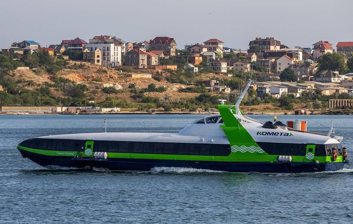 Отменены рейсы скоростной «Кометы» по маршруту Севастополь – Ялта
