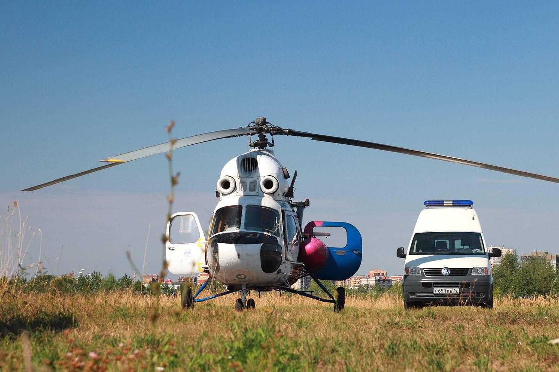 В Крыму построят 20 вертолетных площадок для санавиации