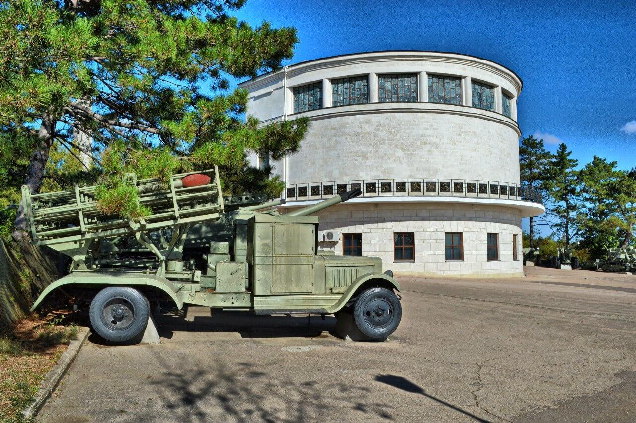 В Севастополе началась реконструкция здания диорамы на Сапун-горе
