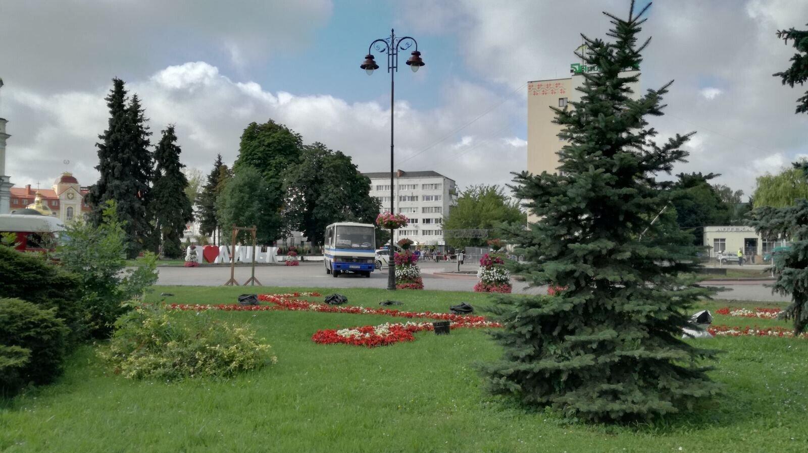 На Украине мужчина захватил автобус с заложниками