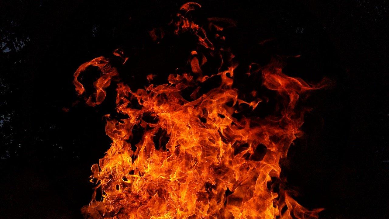 На пожаре в Крыму обнаружен труп