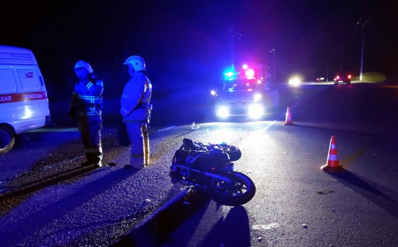 Мотоциклист разбился насмерть в Крыму