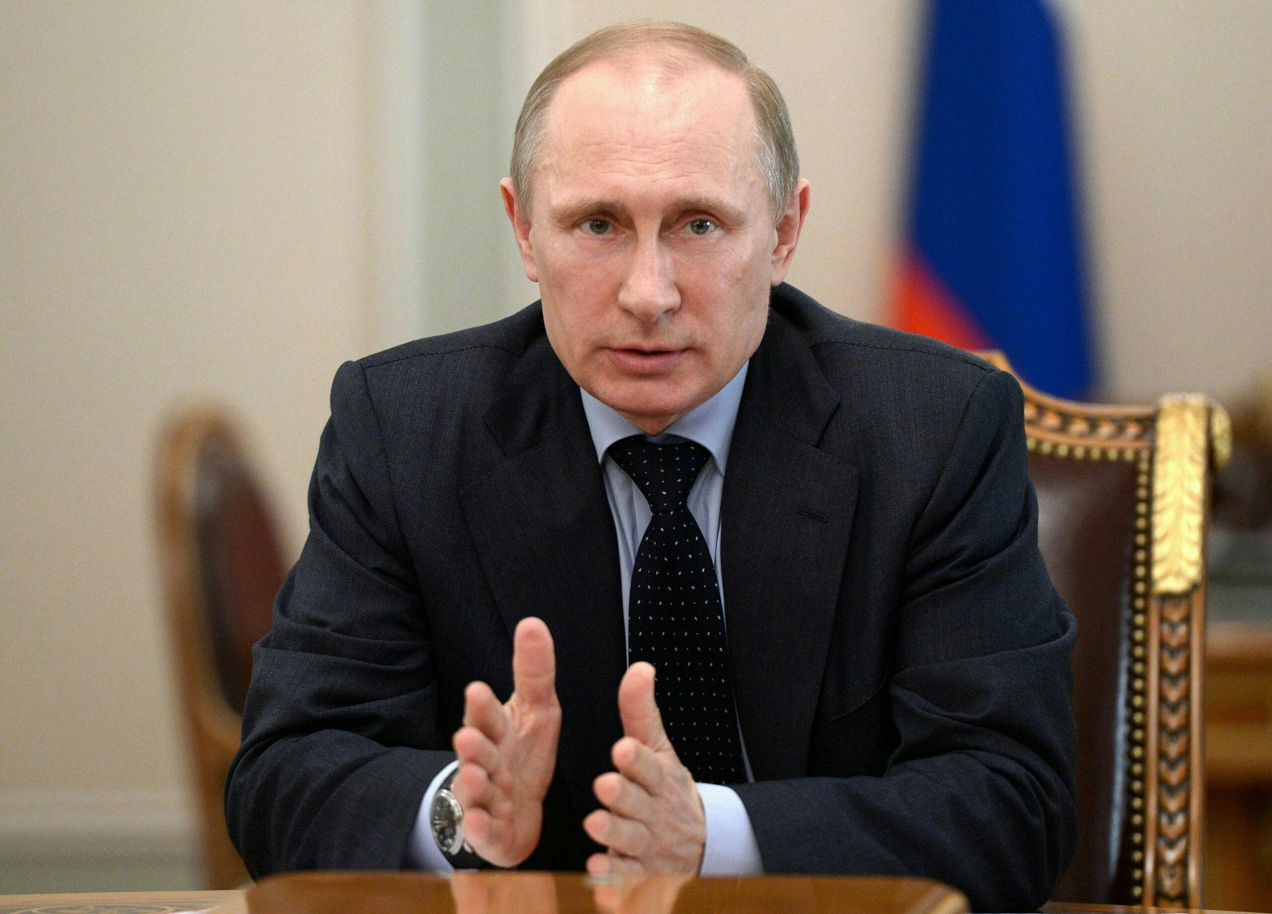 Владимир Путин посетит Крым