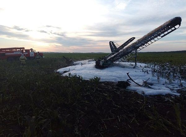 Самолет Ан-2 потерпел крушение в России