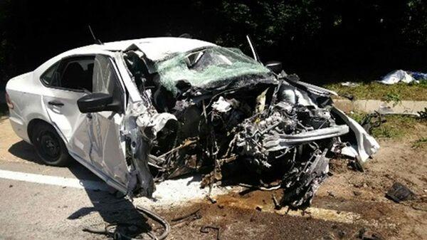 Смертельное ДТП произошло на трассе Симферополь-Ялта
