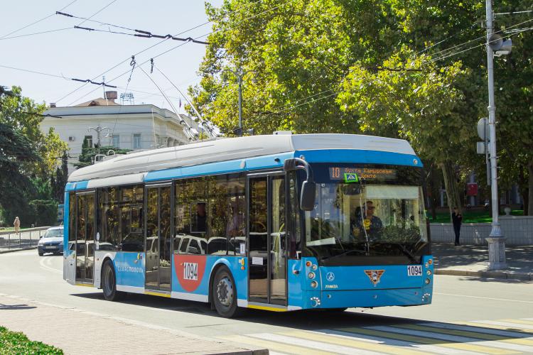 В Севастополе временно не ходят троллейбусы пяти маршрутов