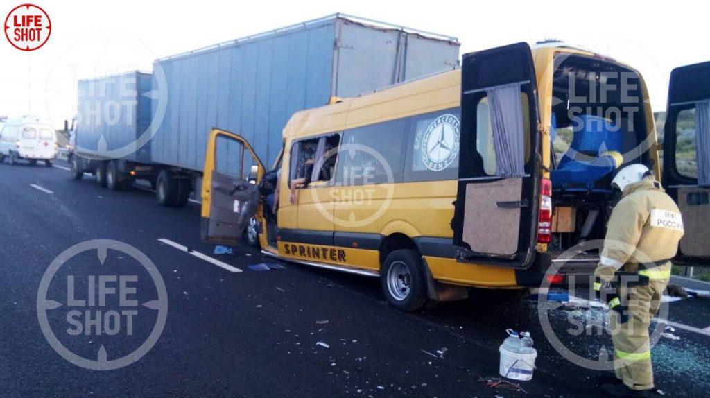 В Минздраве рассказали о состоянии выживших в жуткой аварии на «Тавриде»