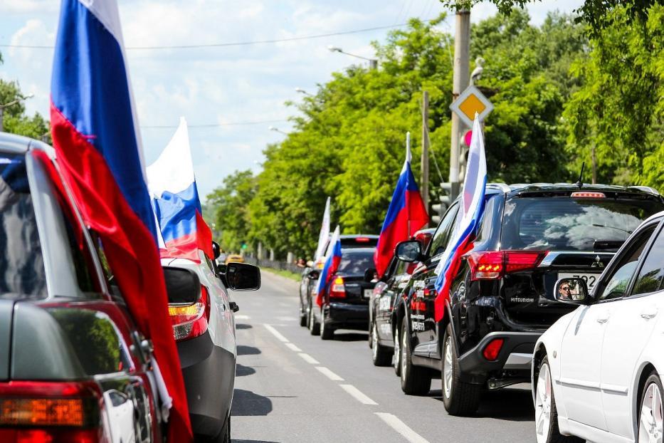 В Севастополе автопробегом отметят День российского флага