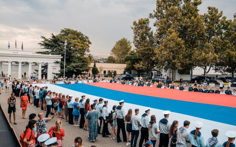 Севастополь примет участие в акциях ко Дню Государственного флага