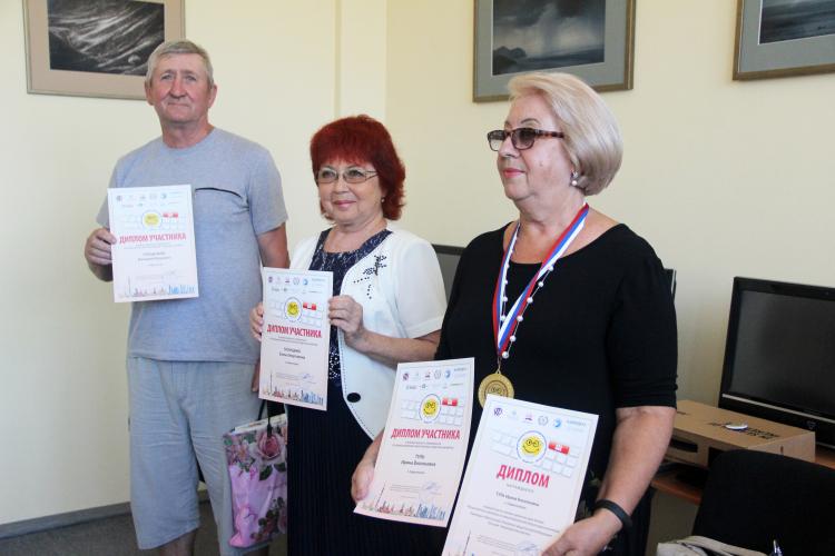 Во Всероссийском чемпионате по компьютерному многоборью призовые места заняли севастопольские пенсионеры