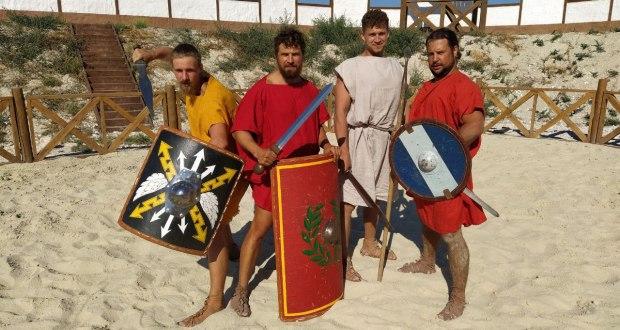 Римские гладиаторы сразятся в центре Севастополя