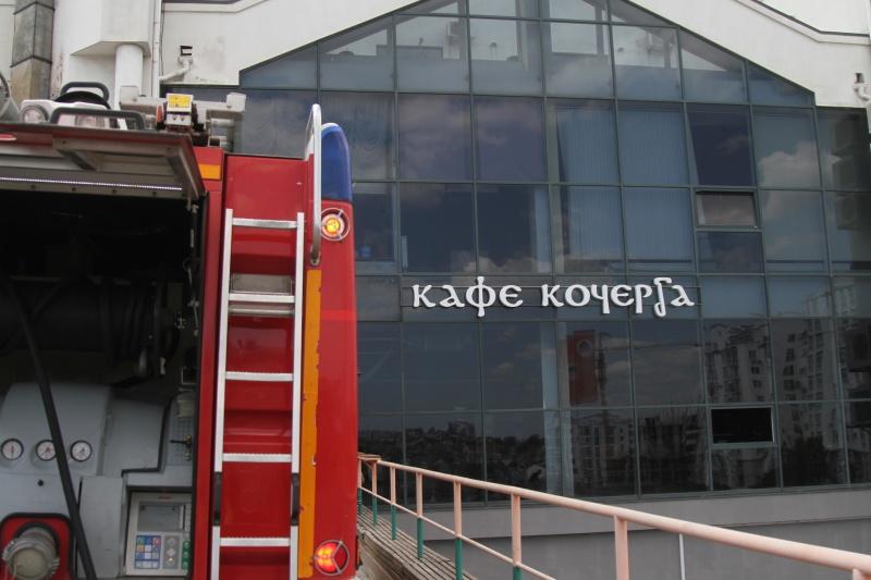 Кафе «Кочерга» загорелось в Севастополе