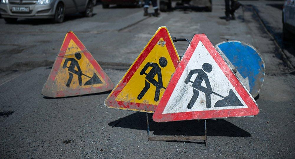Ремонт дороги на Льва Толстого в Севастополе продлили