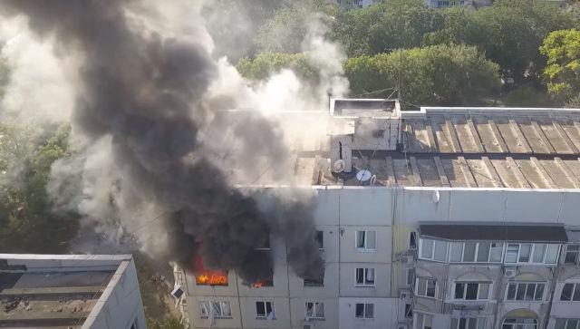Часть дома в Керчи, где произошел взрыв, признали аварийной