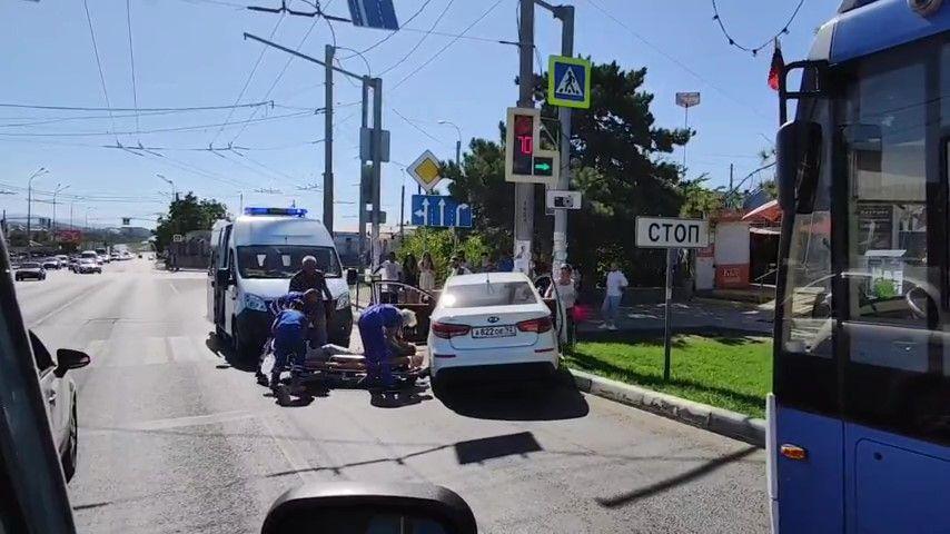 В Севастополе водитель скончался за рулем автомобиля
