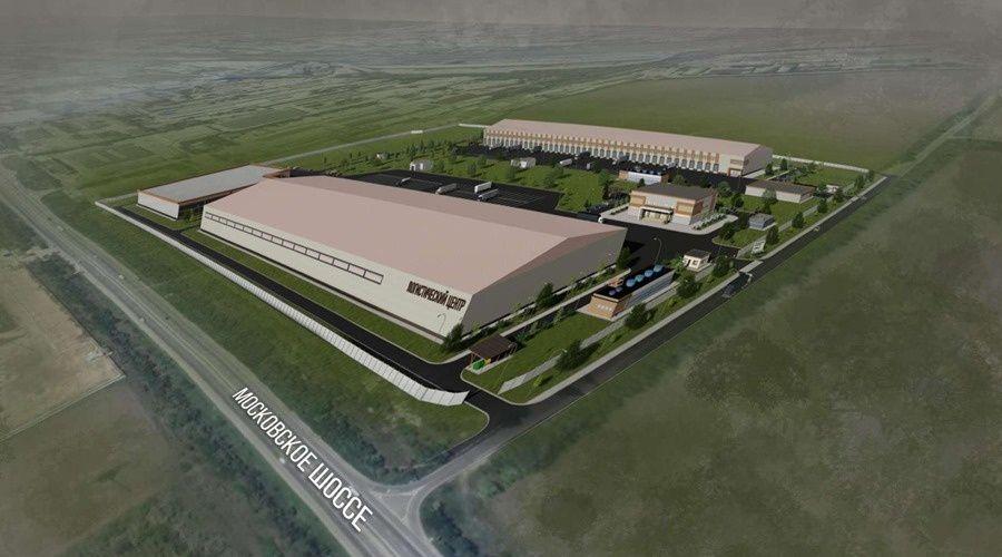 В Крыму будут строить логистический центр