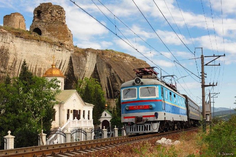 Между Севастополем и Симферополем отремонтируют участок железной дороги