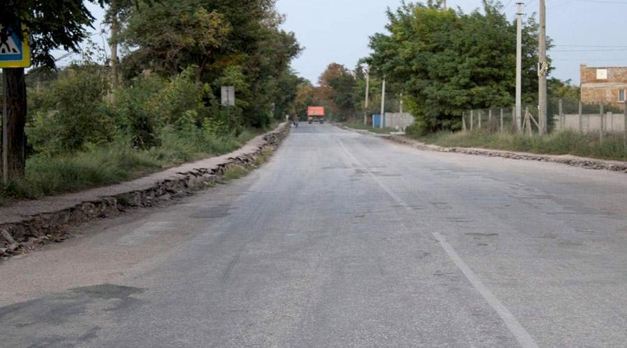В Крыму отремонтируют дорогу от Бахчисарая до Маловидного