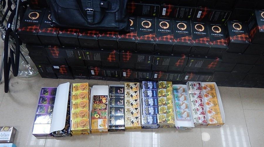 В Крыму таможенники изъяли пачки сигарет без акцизных марок