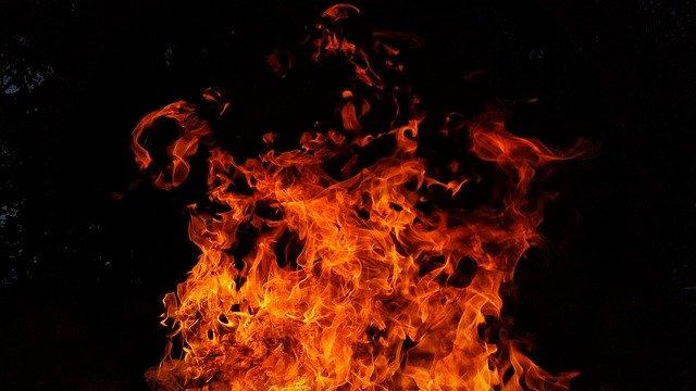 В Евпатории дотла сгорело кафе