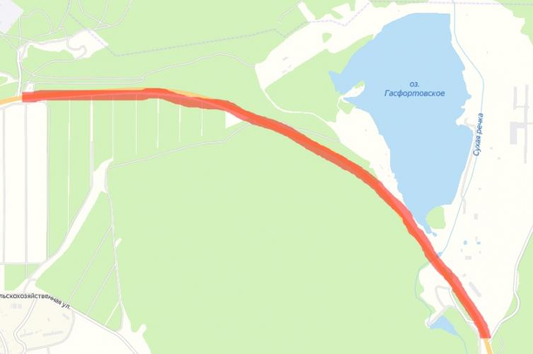 На участке трассы Ялта – Севастополь вводят временные ограничения
