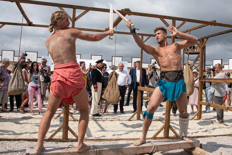 VII Крымский военно-исторический фестиваль стартовал в Севастополе