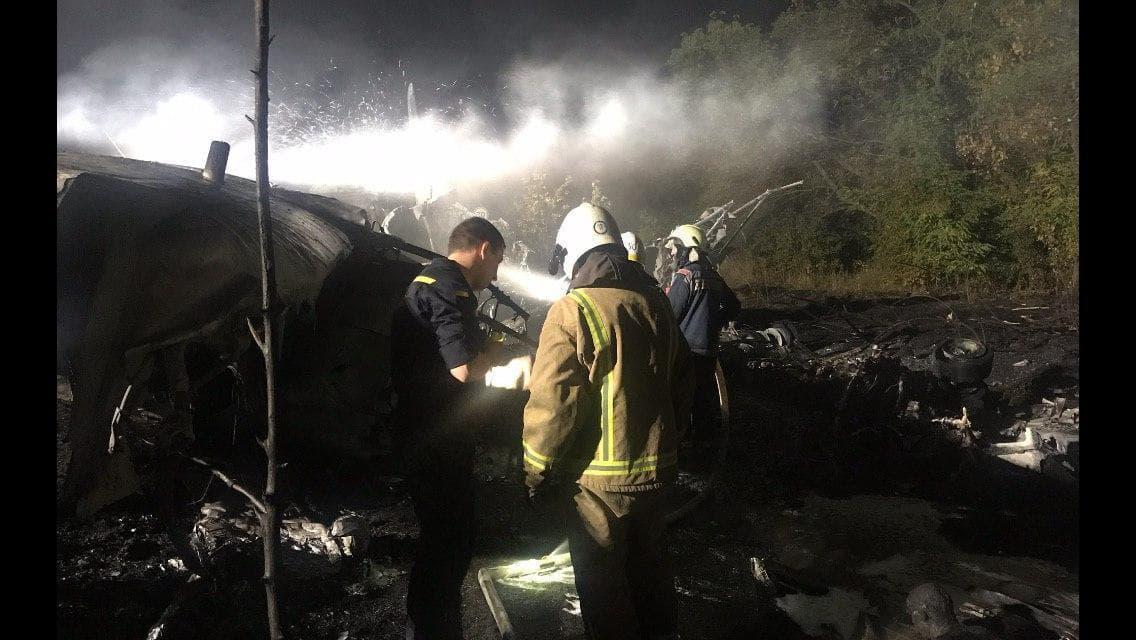 В авиакатастрофе на Украине погибли 25 человек