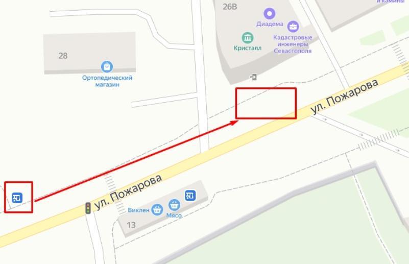 В Севастополе перенесли остановку «Улица Галины Петровой»