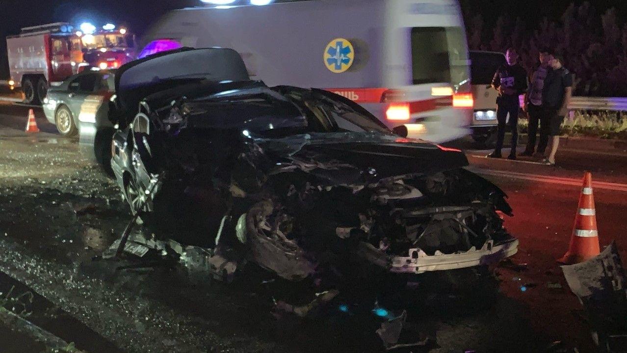 На выезде из Севастополя столкнулись пять автомобилей