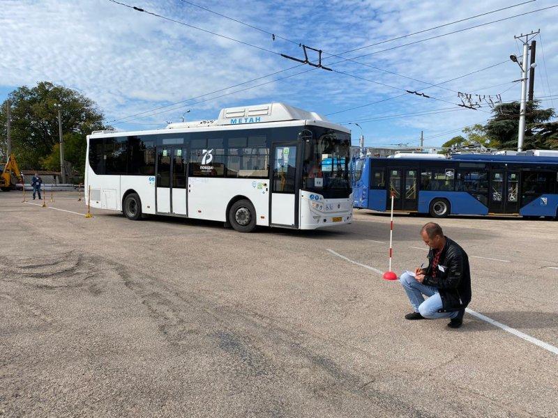 В Севастополе назвали лучшего водителя автобуса