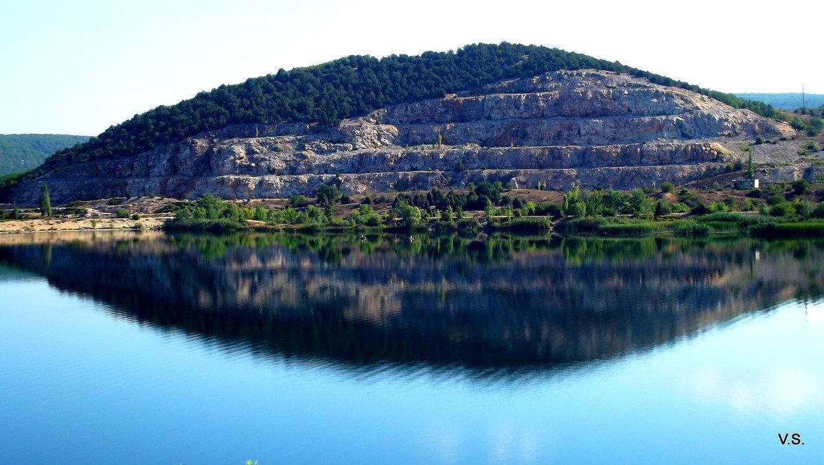 Воду из озера у горы Гасфорта планируют использовать для водоснабжения Севастополя