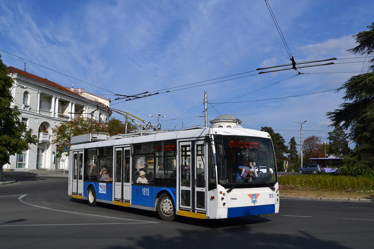 В Севастополе наладят работу двух троллейбусных маршрутов