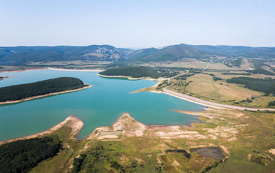 Запасов воды в Чернореченском водохранилище осталось на 81 день
