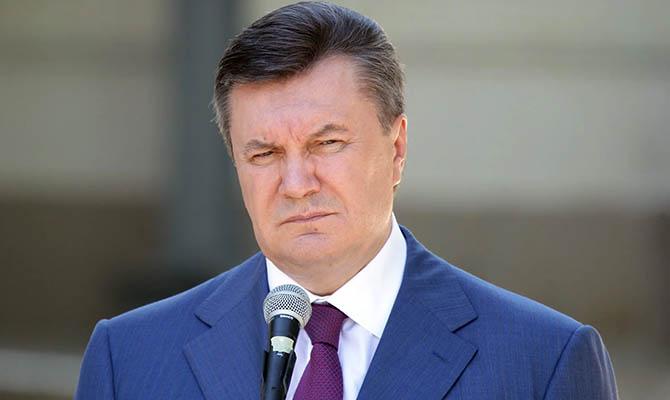 Суд признал невиновность Януковича в потере Крыма