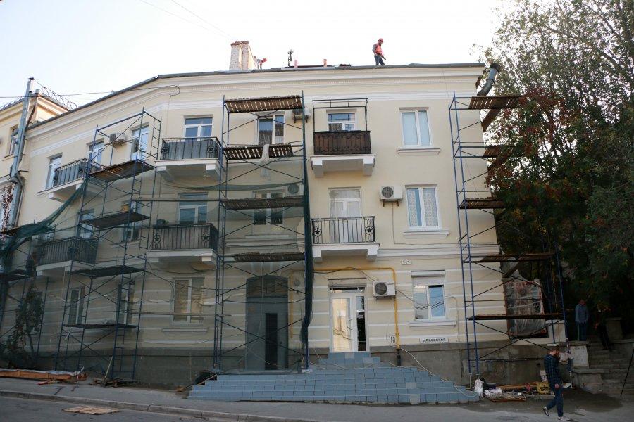 Более 20 домов в Севастополе отремонтируют до конца года