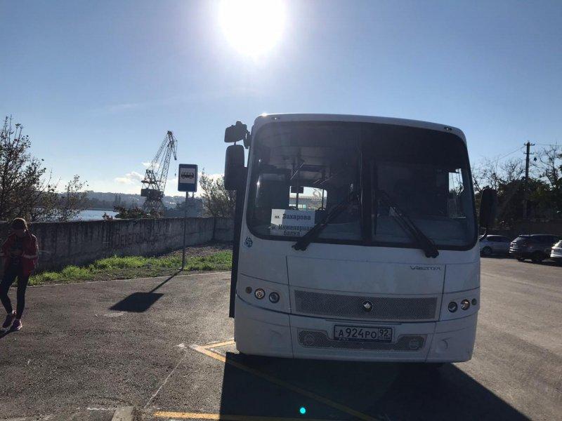 В Севастополе организован новый автобусный маршрут