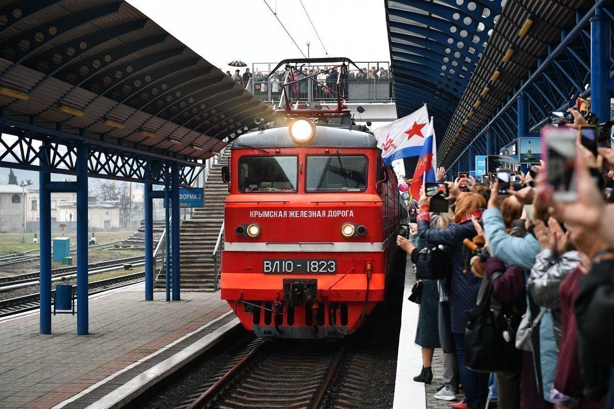 В середине декабря в Крым будут ходить поезда из Астрахани