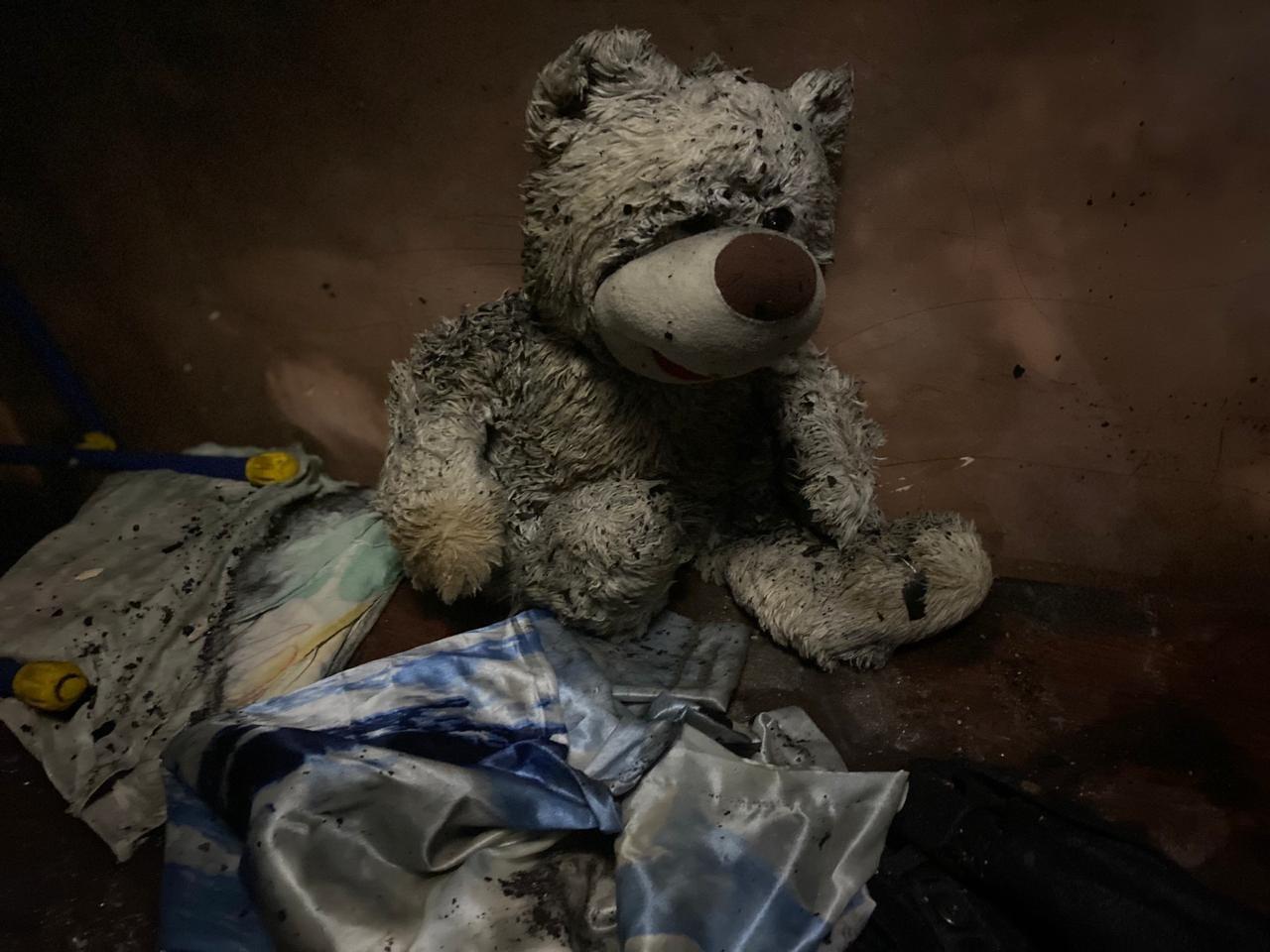 Появились кадры с пожара в Крыму, где заживо сгорели дети и дедушка