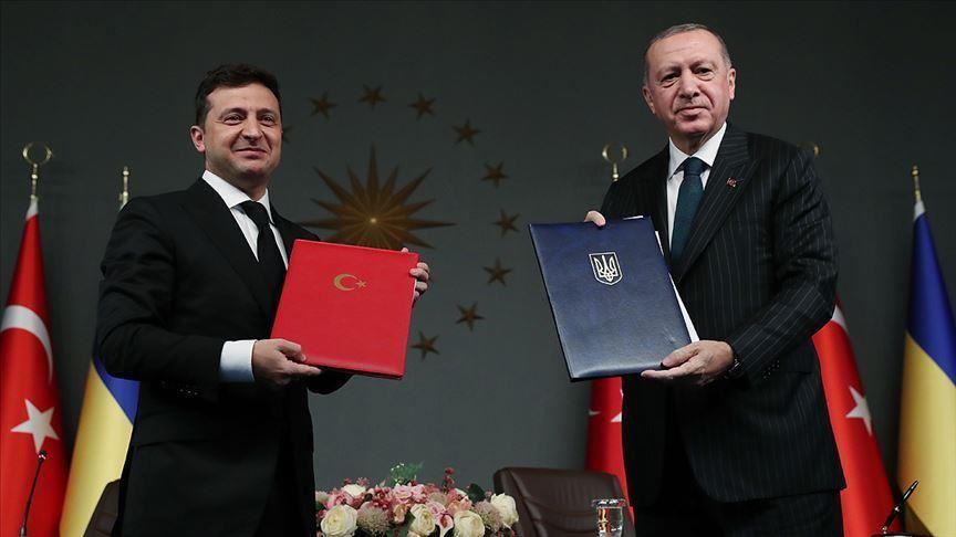 Эрдоган на встрече с Зеленским высказался о принадлежности Крыма